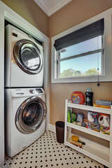 Laundry Room in Guest Bath