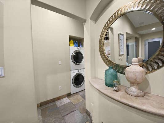 Washer/Dryer in Hallway