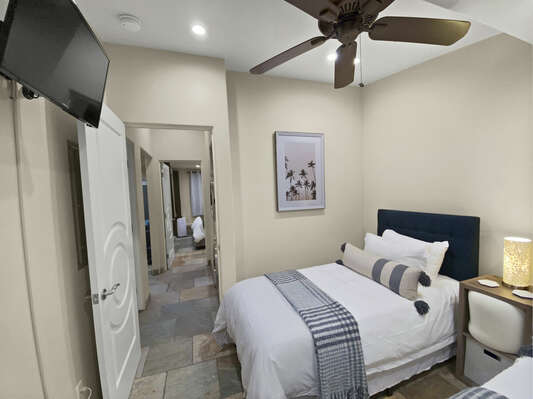 Guest Bedroom - 2 Twin Beds (can combine to 1 King)