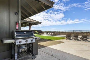 BBQ provided to cook up a great steak or some fresh local fish