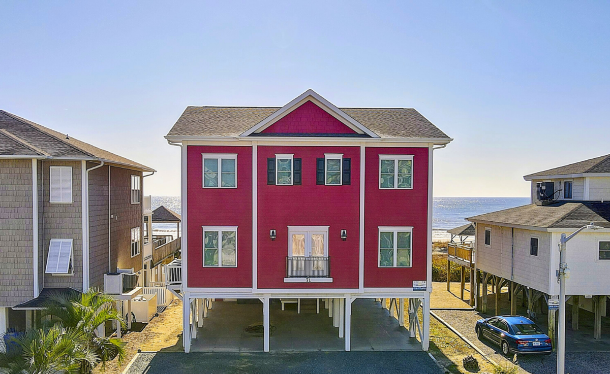 71W1 - Misty Isle - Oceanfront House