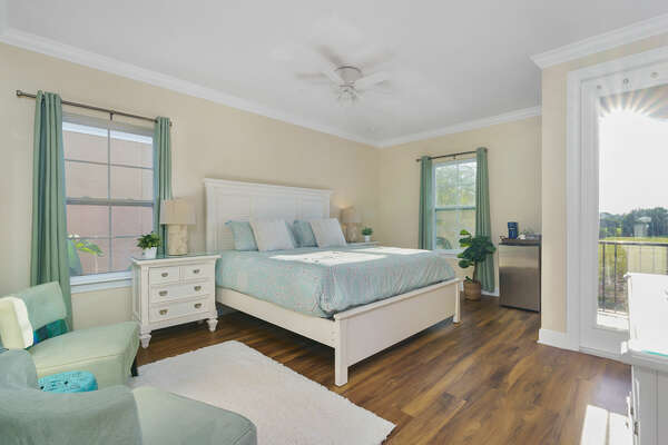 The final master suite