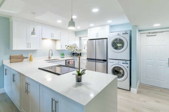 Fully upgraded kitchen with everything you need. An in unit washer and dryer is available for your convenience.