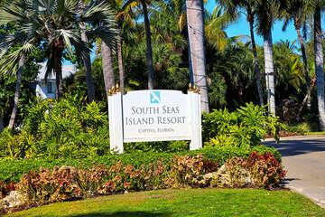 South Seas entrance