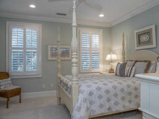 3rd guest bedroom with a queen bed