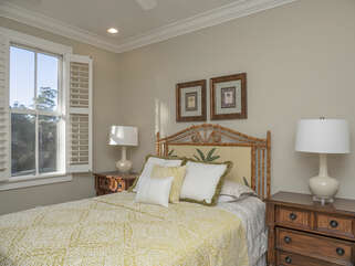 4th guest bedroom  with queen bed