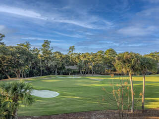 Amazing views of 6th green of Ocean Winds course