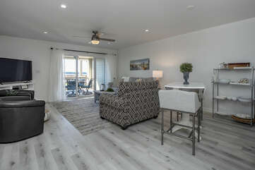The Great Room with an open floor plan welcomes you!