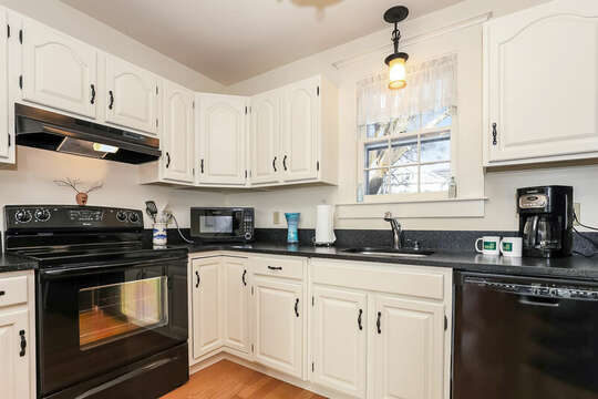 Everything you need - dishwasher, too!  323 Main Street Chatham Cape Cod - New England Vacation Rentals
