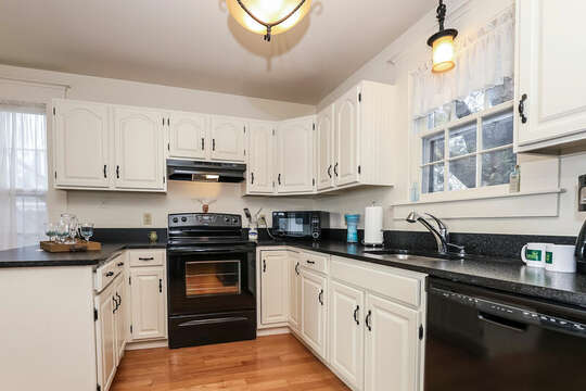 Great kitchen to make meals when you want to eat in.  323 Main Street Chatham Cape Cod - New England Vacation Rentals