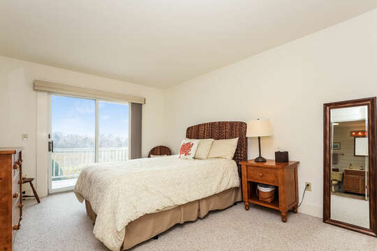 Views from Bedroom #1 - Queen EnSuite.  323 Main Street Chatham Cape Cod - New England Vacation Rentals