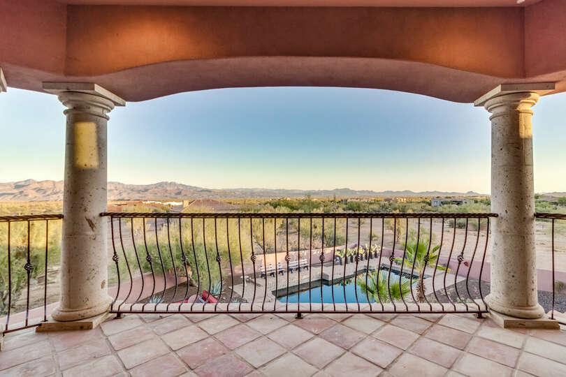 2nd floor patio view