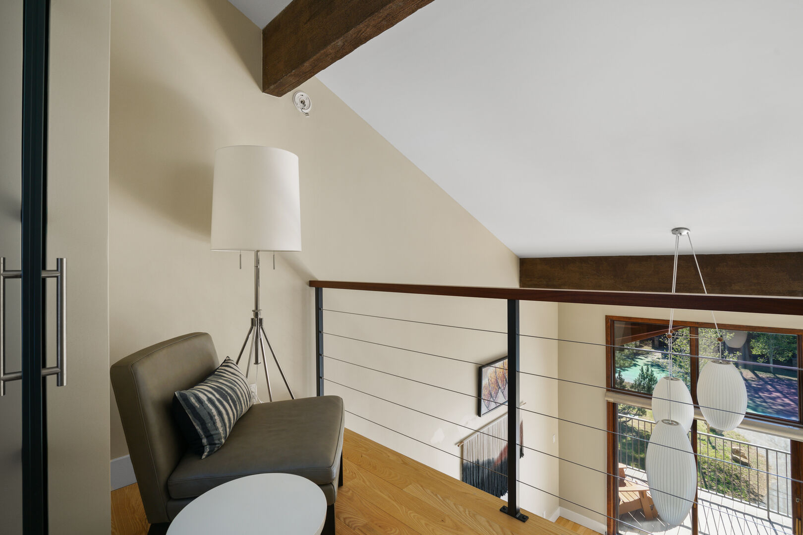 Upstairs seating off Bedroom