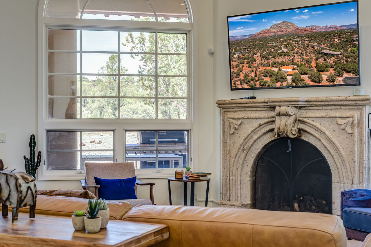 Mountain Views from the Great Room