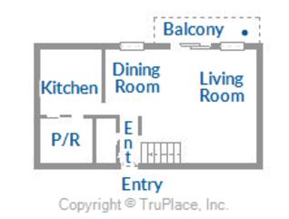 1st floor layout