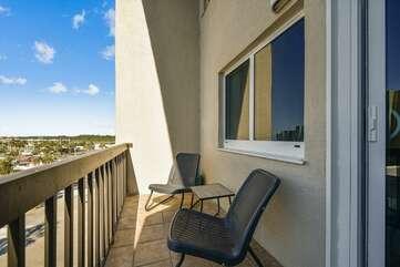 Living area balcony