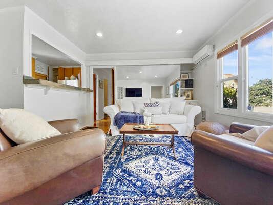 Comfortable Living Area - First Floor