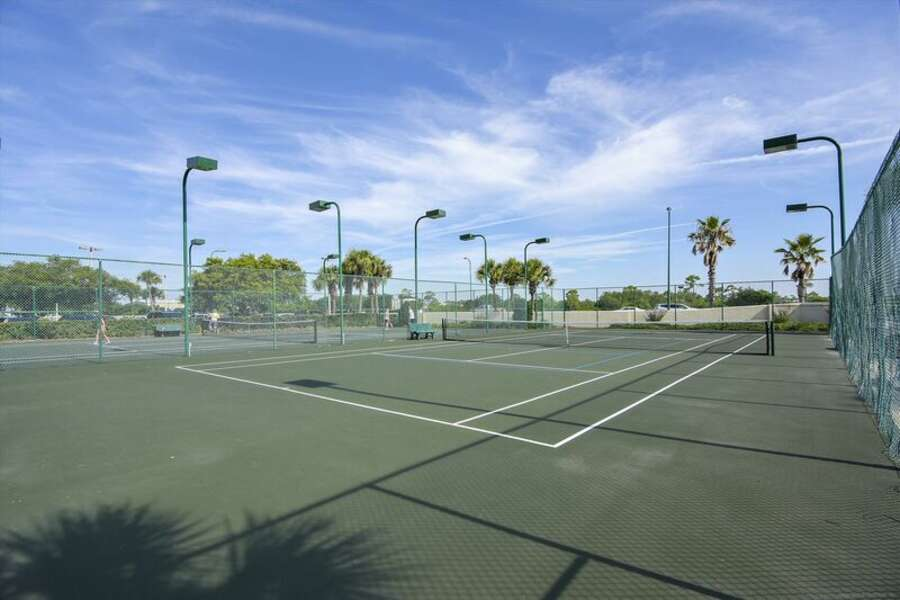 Lighted Tennis CourtsGrilling and Picnic Area