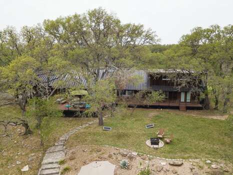 Deck Extends to the Entire Back of the House and a Grand Yard