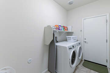 A well stocked laundry room means you can pack less but still have clean clothes for your Arizona adventures.