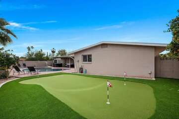 Private Putting Green - Get Some Practice in Before Your Round of Golf