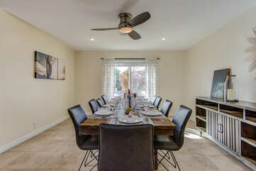Dining Room with Seating for Ten