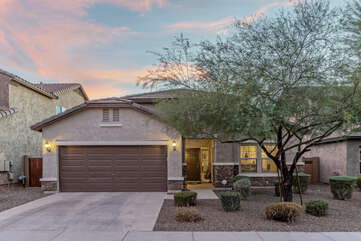 Our home is in a family friendly and quiet neighborhood with sidewalks for leisurely walks.