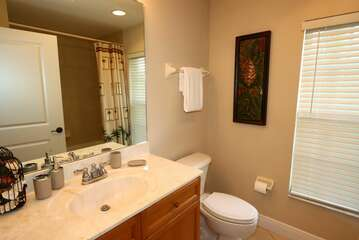 Guest Bathroom with Shower tub combination