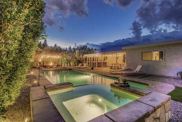Welcome to the Autry Villa. This spacious four bedroom home is only a few miles away from downtown Palm springs.