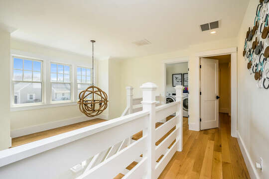 Washer and Dryer in separate laundry room - 74 E Bay View Road Dennis Cape Cod - New England Vacation Rentals