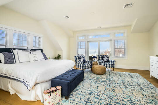 King Bed - 74 E Bay View Road Dennis Cape Cod - New England Vacation Rentals