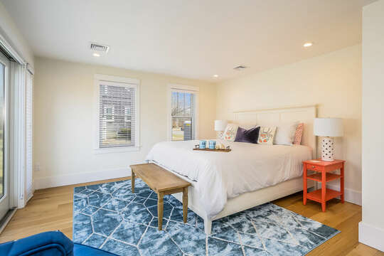 Main Level Master - King Bed - 74 E Bay View Road Dennis Cape Cod - New England Vacation Rentals