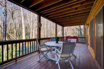Lower Level Screened Porch