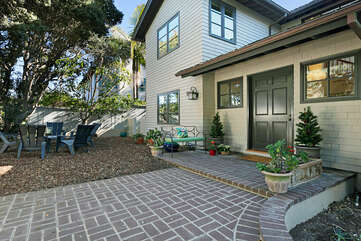 This larger, 3 story home is one of the most unique places you will find in Encinitas.