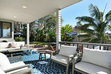 When you come outside to enjoy the sun and ocean views, you will not want to leave this home.