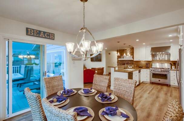 Dining Area into Deck