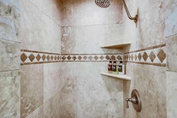 Master En-Suite Bath with Shower