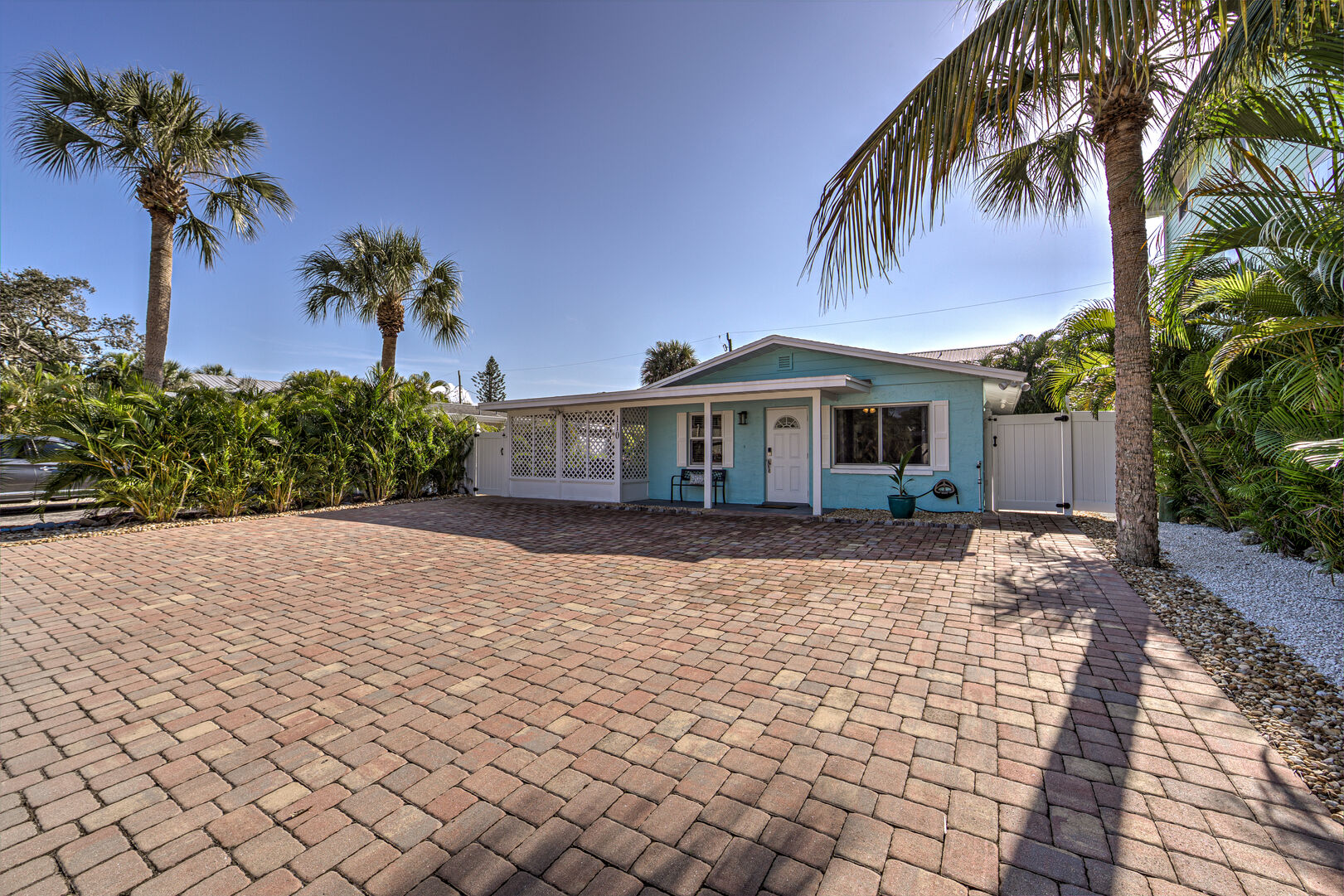 Front of the Vacation Homes in Fort Myers