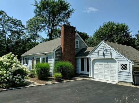 Side view of home -50 Foster Road Hyannis Cape Cod- New England Vacation Rentals
