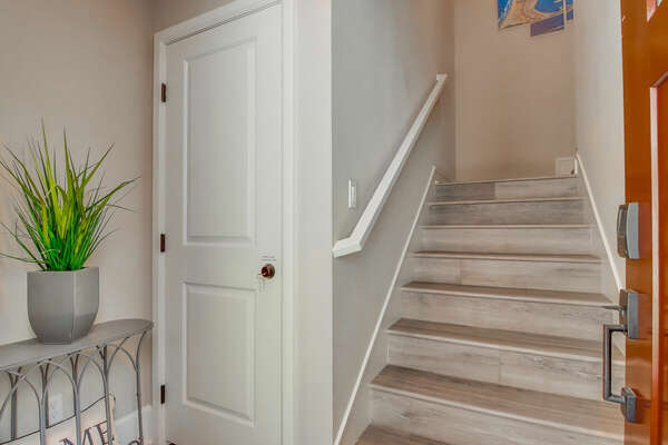 Entryway and Stairwell