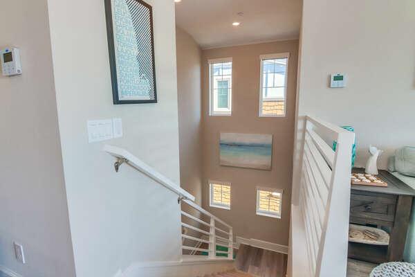 Stairwell to Third Floor