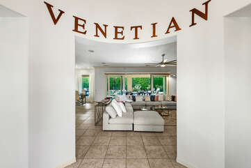 You will be greeting by an open floor plan, get ready for some fun!