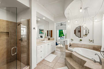 Vacay Stay will provide a starter set of L'Occitane shampoo, conditioner, soaps and toilet paper in each bathroom.