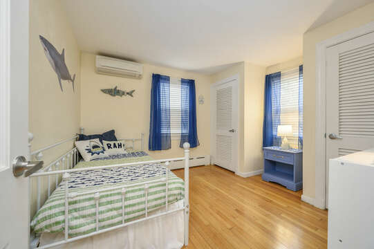 Bedroom #1 twin trundle bed-50 Foster Road Hyannis Cape Cod- New England Vacation Rentals