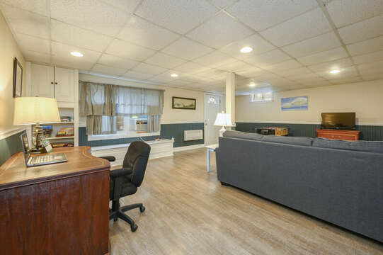 Lower Level multi-use area-50 Foster Road Hyannis Cape Cod- New England Vacation Rentals