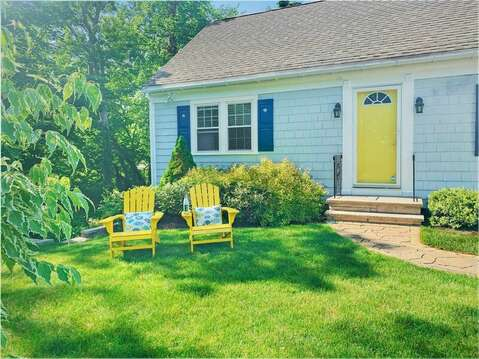 Front view of home at-50 Foster Road Hyannis Cape Cod- New England Vacation Rentals