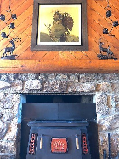 Main Level wood stove