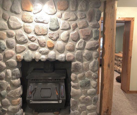 Lower Level woodstove