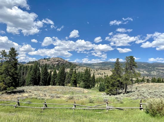 Views along the Chief Joseph Scenic byway