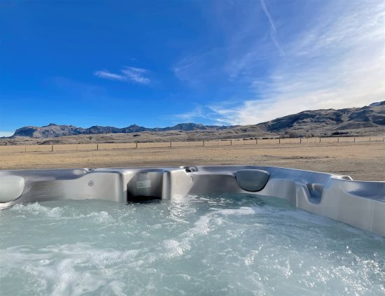 Beautiful Hot Tub Views